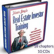 Fixer Jay's Real Estate Investor Training Home Study Course