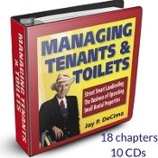 Fixer Jay's Managing Tenants & Toilets Home Study Course
