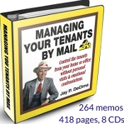 Managing Your Tenants By Mail